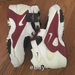 RARE VINTAGE NIKE AIR PRO DESTROYER STOVE FOOTBALL TURF CLEATS SHOES sz 16 90s
