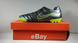 Rare! 2011 Nike5 Bomba PRO Turf 415119-003 Grey Mens Soccer Shoes Size 9