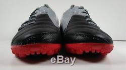 Rare! 2011 Nike5 Bomba PRO Turf 415119-066 Black/Grey Mens Soccer Shoes Size 8