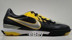 Rare! 2011 Nike T90 Shoot IV TF Men's Turf Soccer Shoes 472560-007 US Size 10