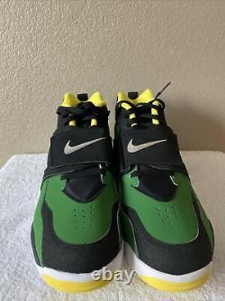 Rare Nike Air Diamond Oregon Ducks 309434-302 Turf Training Shoes. Size 11.5