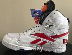 Reebok Pump Wet Rat Pro RA403 NRT Mens Turf Cleat Shoes Size US 11.5 Rare