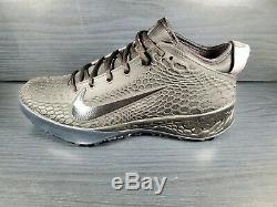 SZ 10.5 Nike Force Zoom Trout 5 Baseball Turf Shoes Triple Black AH3374-002 Mens