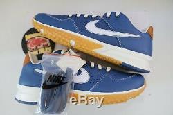 Shoe Nike X Baseballism Alpha Huarache Blue Flag Man Turf 2 Mens Size 10