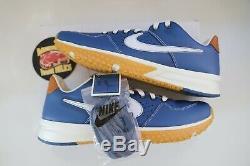 Shoe Nike X Baseballism Alpha Huarache Blue Flag Man Turf 2 Mens Size 11.5