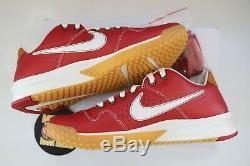 Shoe Nike X Baseballism Alpha Huarache Red Flag Man Turf 2 Mens Size 10