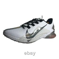 Size 14 Men's NIKE AIR FORCE ZOOM TROUT 7 TURF Baseball Shoes CQ7225-103