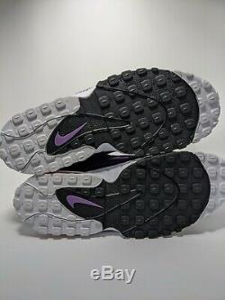 Sz 11.5 Nike Air Max Speed Turf Deion Sanders Night Purple Shoes OG 525225-500