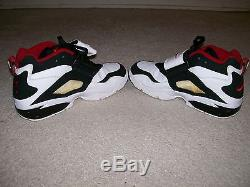 VTG 2004 OG Men Nike Diamond Turf Deion XV Prime 309434-101 21-24 Logo On tongue