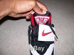 VTG 2004 OG Mens Nike Diamond Turf Deion Sanders 309434-101 21-24 Logo On tongue