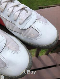 Vintage 1983 Nike New Turf Shoe Waffle Trainer Mens 13 Air General Korea NOS