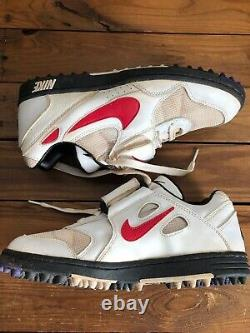 Vintage 90s 2000 Nike Sample Football Turf Shoes Sneakers Size 10