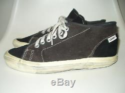 Vintage Vans Turf suede Shoes USA made Rare! / Lampin