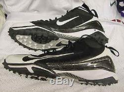 Virginia Tech Hokies #3 Logan Thomas Game Worn Nike Football Turf Cleats Size 17