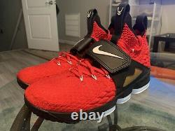 Worn 2x. Lebron 15 Red Diamond Turf Size 14 Basketball Lebron Watch shoes